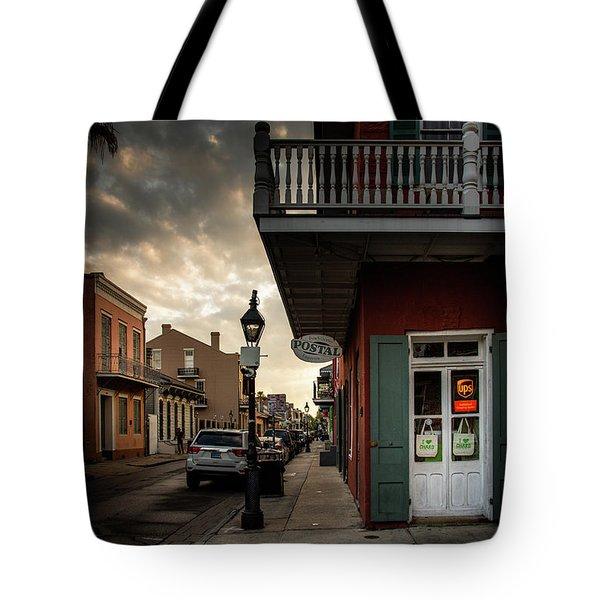 Postal On Bourbon Tote Bag