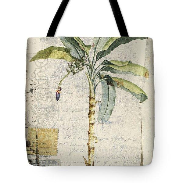 Postcard Banana Plant Botanical Tote Bag