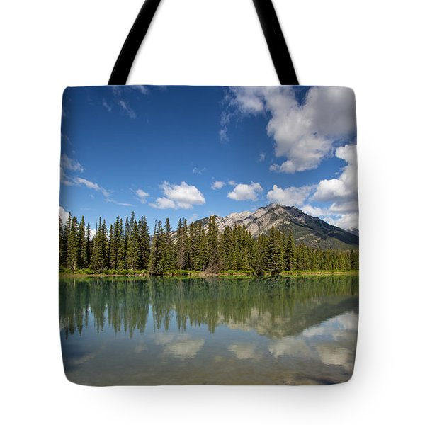 Postcard From Banff Tote Bag