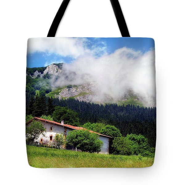 Postcard From Basque Country Tote Bag