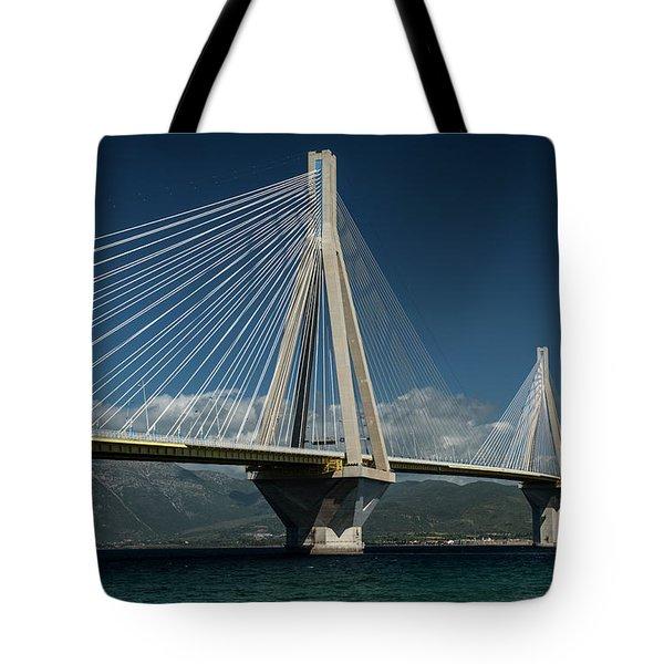 Postcard With Rio-andirio Bridge  Tote Bag