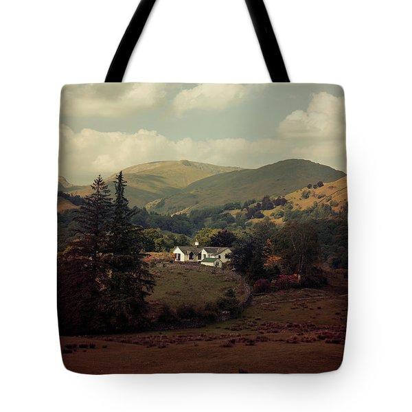 Postcards From Scotland Tote Bag by Jaroslaw Blaminsky