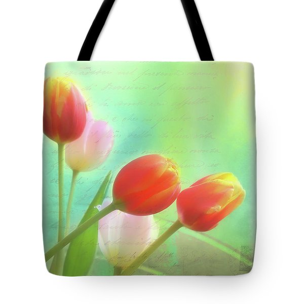Postcards From The Edge Tote Bag by Catherine Alfidi