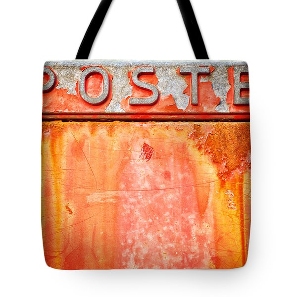 Poste Italian Weathered Mailbox Tote Bag