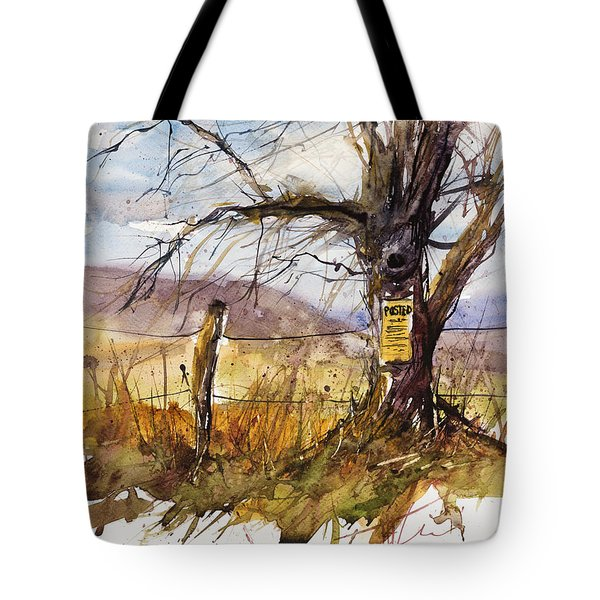 Posted Tote Bag by Judith Levins