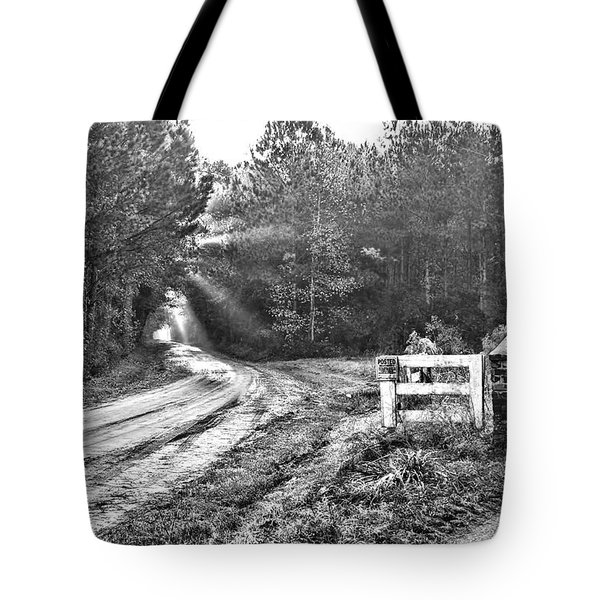 Posted On Witsell Rd Tote Bag