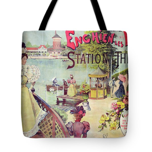 Poster Advertising Spa Resort  Tote Bag by French School