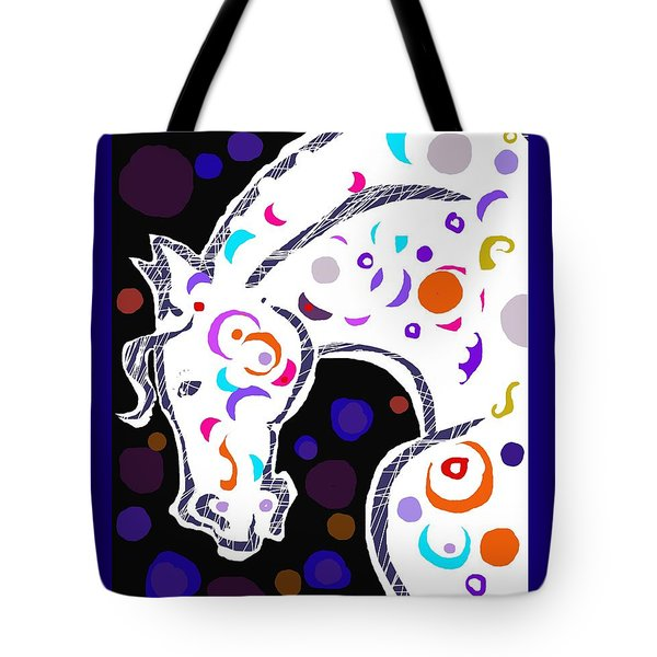 poster HORSE Tote Bag by Mary Armstrong