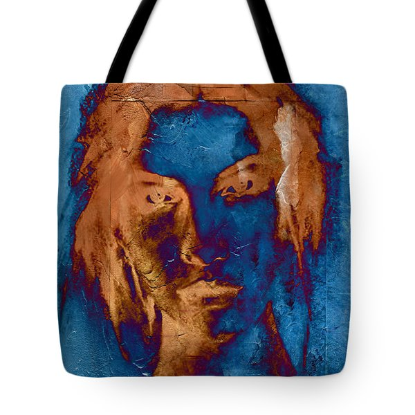 Posterized Portrait Tote Bag