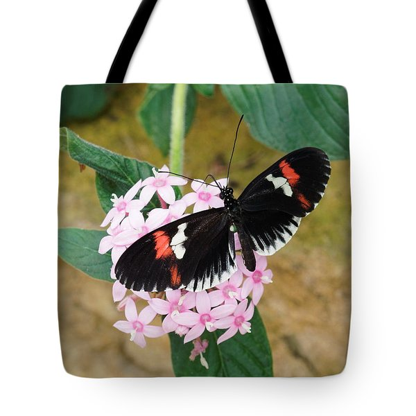 Tote Bag featuring the photograph Postman Butterfly, Heliconius Melpomene by Paul Gulliver