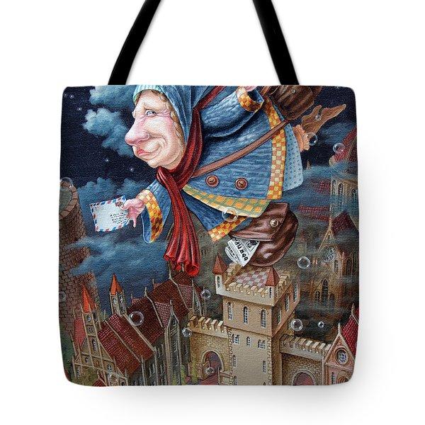 Postwoman Tote Bag