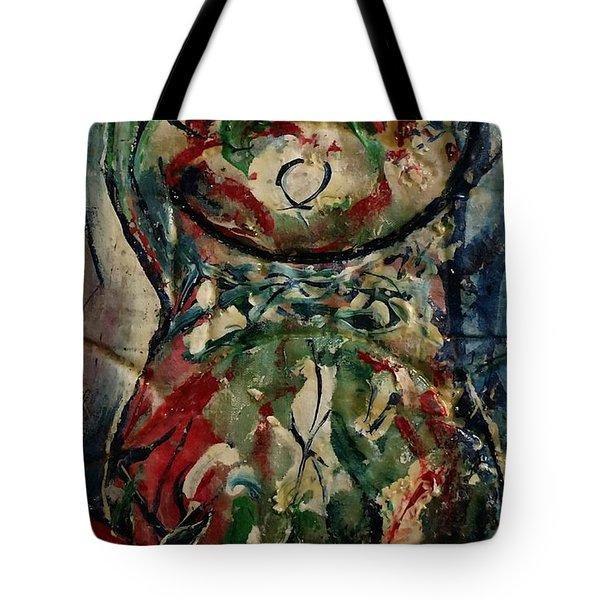 Potpourri Vase With Rose Tote Bag