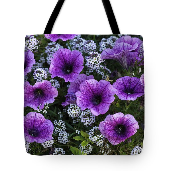 Pot Of Flowers Tote Bag