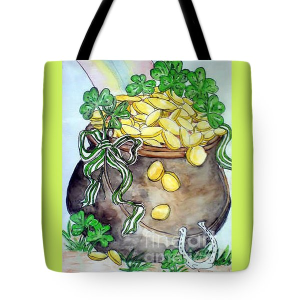 Pot-of-gold Tote Bag