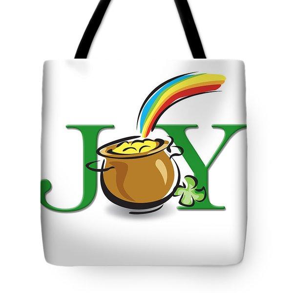 Pot Of Gold Joy Tote Bag by Greg Slocum