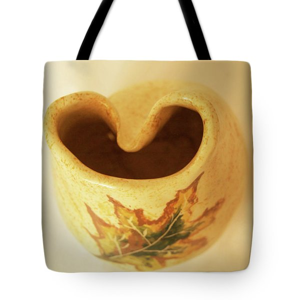 Pot On  A Leaf Tote Bag by Itzhak Richter