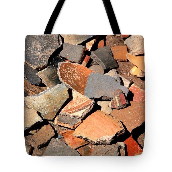 Pot Shards Tote Bag by Joe Kozlowski