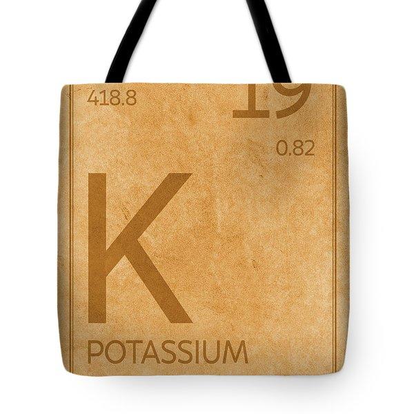Chemical Element Tote Bags Fine Art America