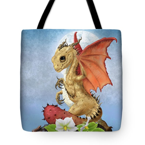 Potato Dragon Tote Bag