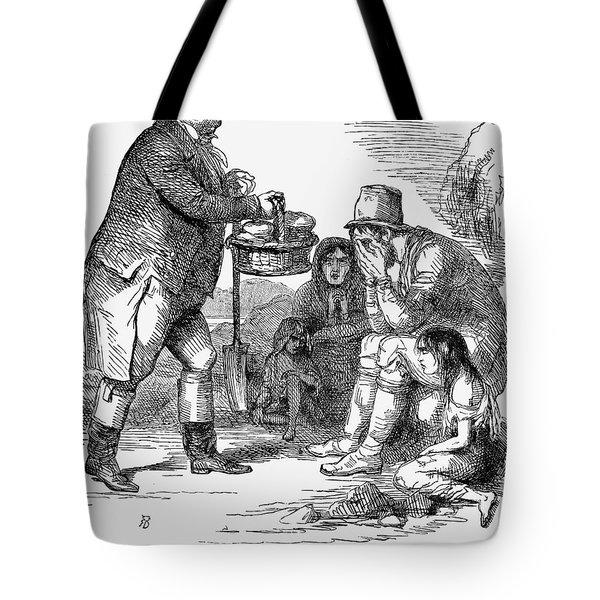 Potato Famine, 1846 Tote Bag by Granger