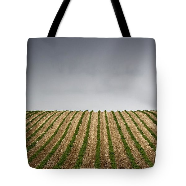Potato Field Tote Bag by John Short