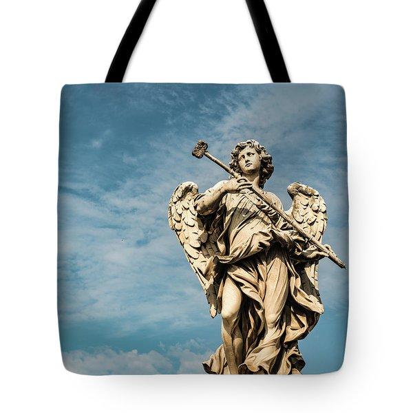 Potaverunt Me Aceto Tote Bag by Joseph Yarbrough