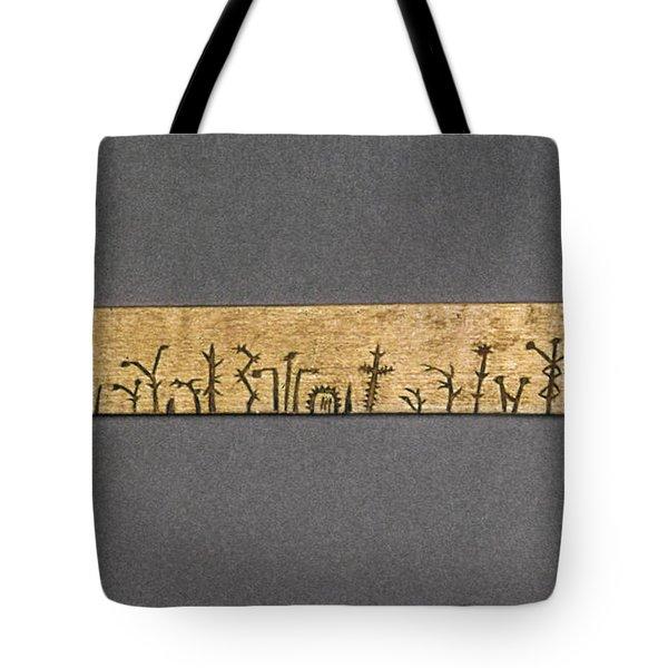 Potawatomi Medicine Stick Tote Bag by Granger