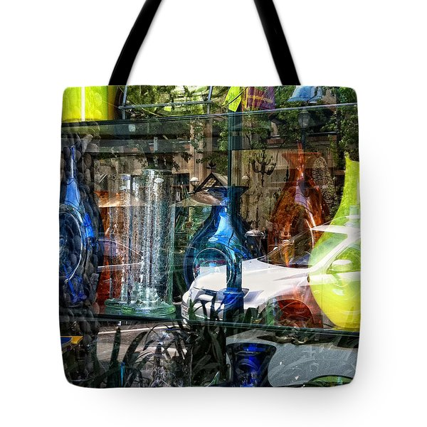 Potential Broken Glass Tote Bag by Donna Blackhall