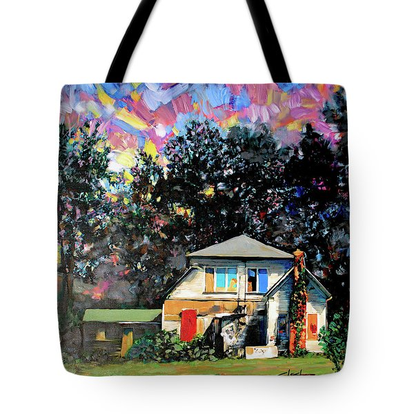 Potential On Elm Street Tote Bag