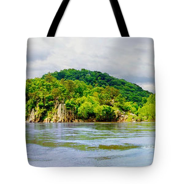 Tote Bag featuring the photograph Potomac Palisaides by Francesa Miller
