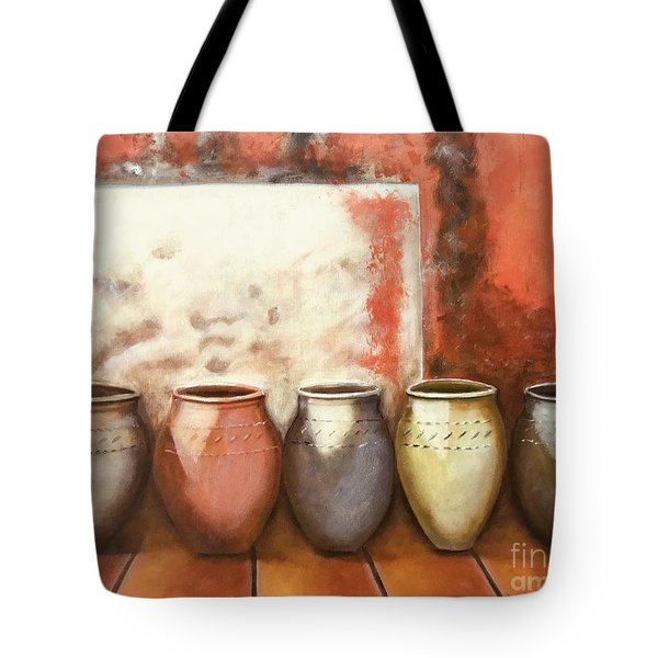 Pots In The Sun Tote Bag