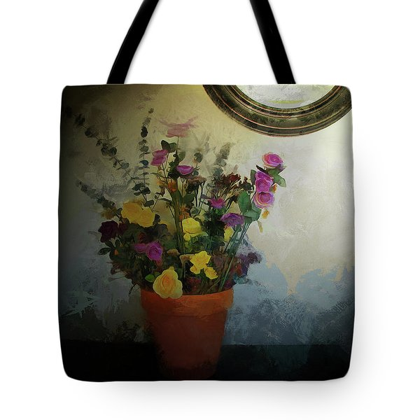 Potted Flowers 2 Tote Bag