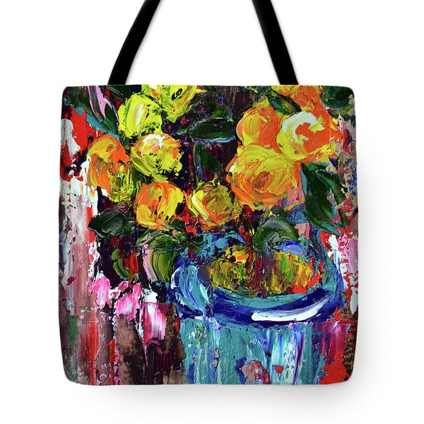 Potted Mini Oranges Tote Bag