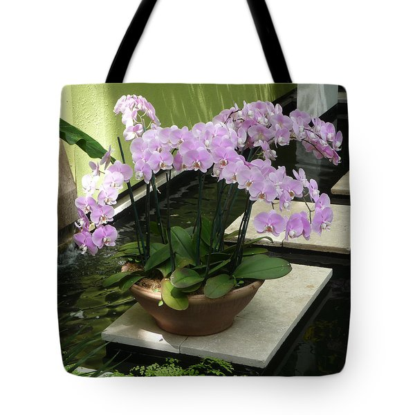 Potted Phalaenopsis-orchids Tote Bag