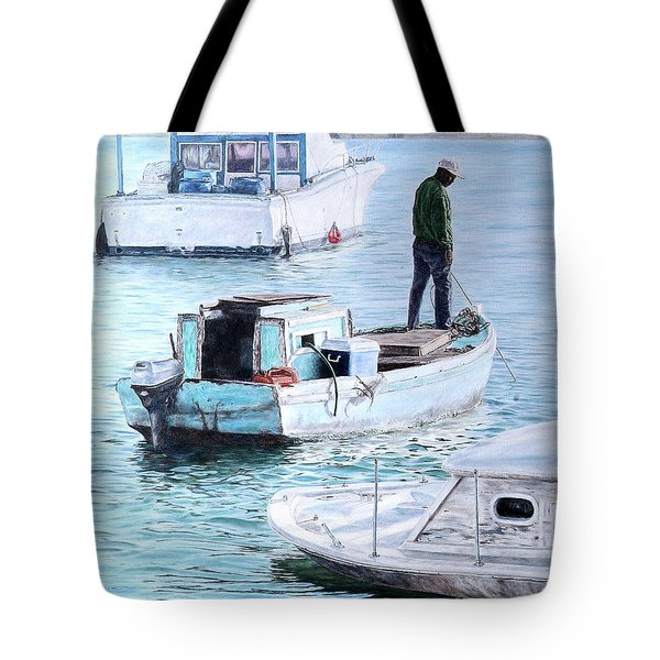 Potter's Cay Blues Tote Bag