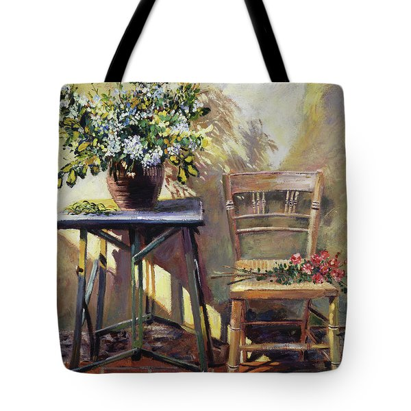 Pottery Maker's Table Tote Bag
