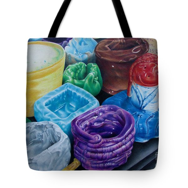 Pottery Princess Tote Bag