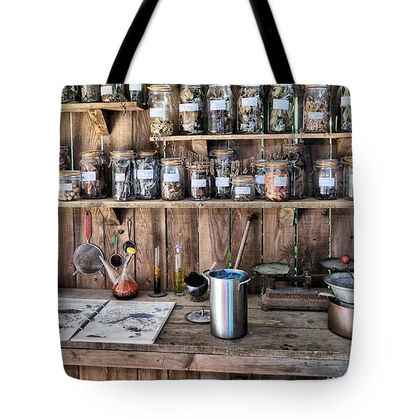Potting Shed Tote Bag