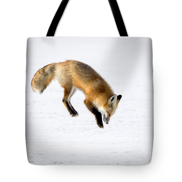 Pounce Tote Bag by Jack Bell
