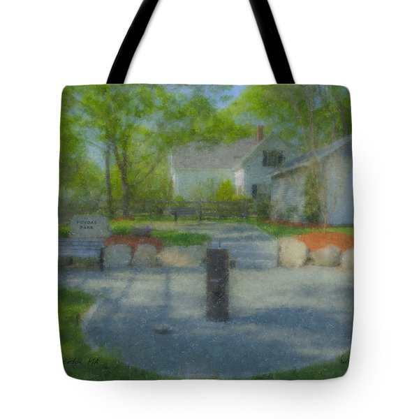Povoas Park Tote Bag