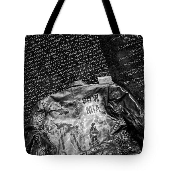 Pow Mia Never Forget Tote Bag