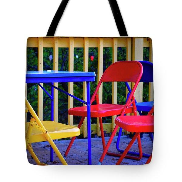 Pow Wow Tote Bag by Skip Hunt