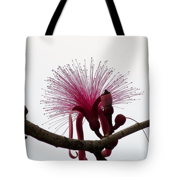Powder Puff Tote Bag
