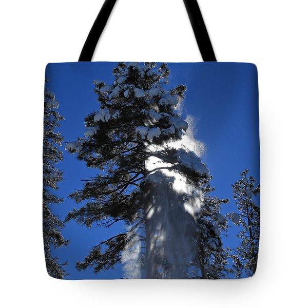 Powderfall Tote Bag