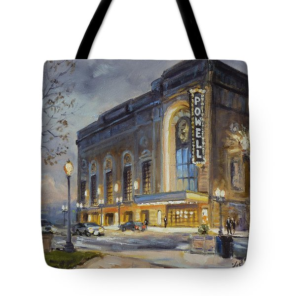 Powell Symphony Hall In Saint Louis Tote Bag by Irek Szelag