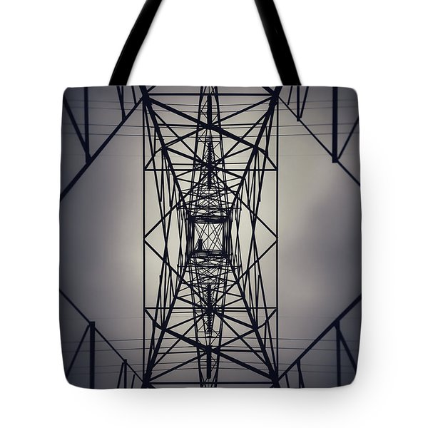 Power Above Tote Bag