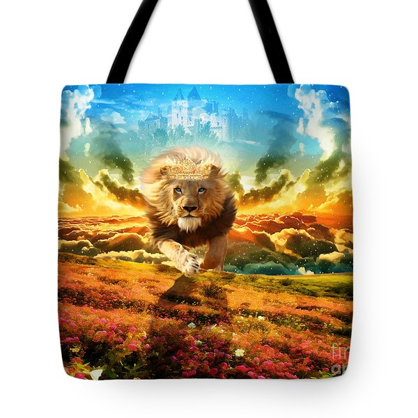 Power And Glory Tote Bag