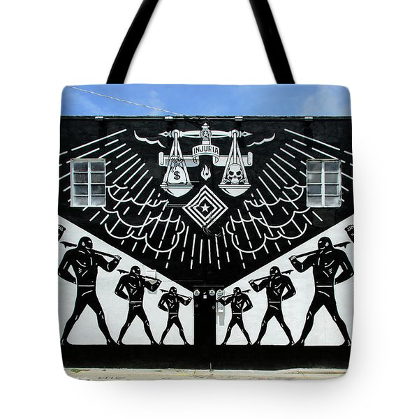 Power And Glory Tote Bag by Keith Armstrong