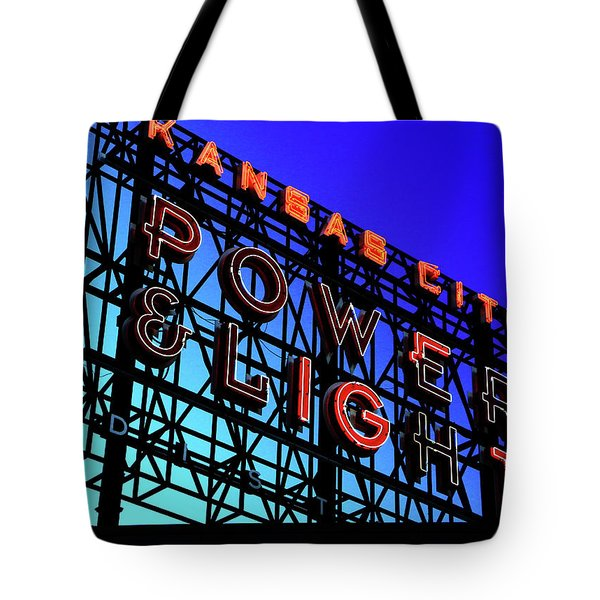 Power And Some Light Tote Bag