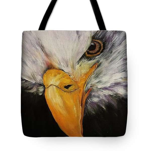 Power And Strength    64 Tote Bag